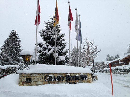 Grand Hotel Park: Hotel entrance