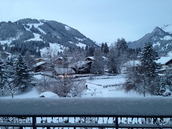 Park Gstaad: Awesome view from our room