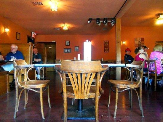 The Plaice Restaurant & Bar: The 1970's interior