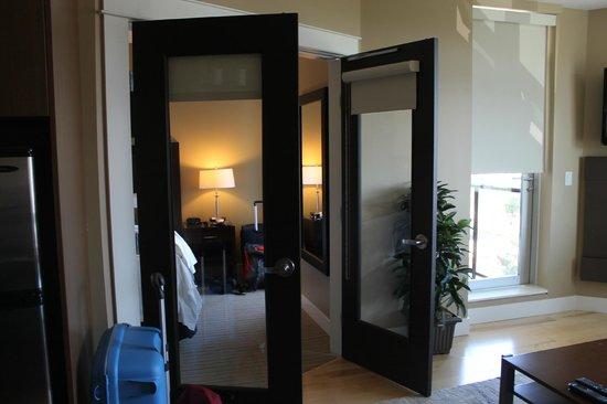 The Parkside Hotel & Spa : aparte slaapkamer