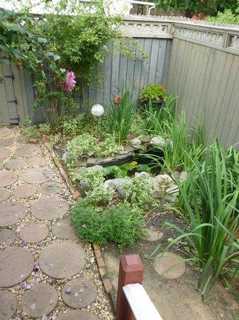Gallery House: Garden area