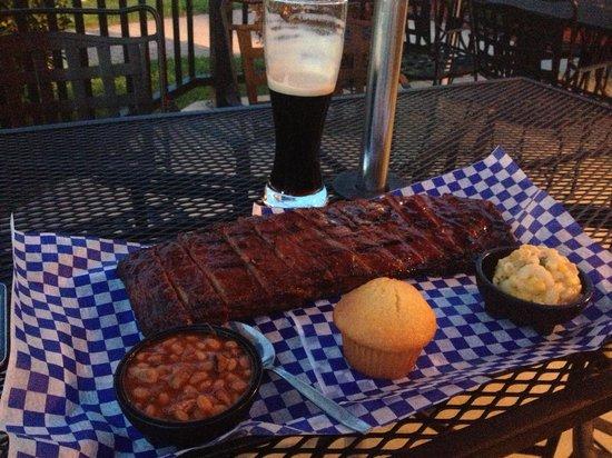 Famous Dave's Bar-B-Que: Ribs'n'Ribs with Mac'n'Cheese & Willard Beans