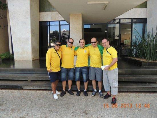 Aracoara Hotel: Entrada do hotel