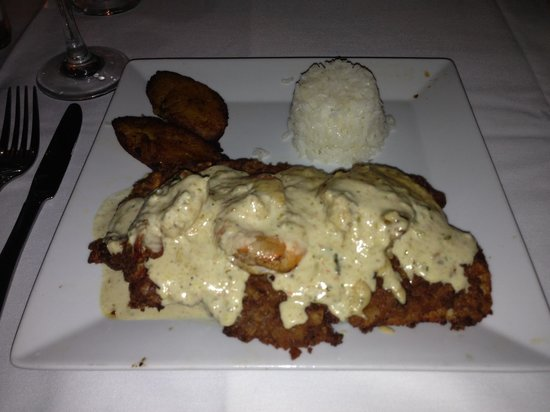 Mario's Catalina Restaurant : Crusted Red Snapper DELICIOUS!!