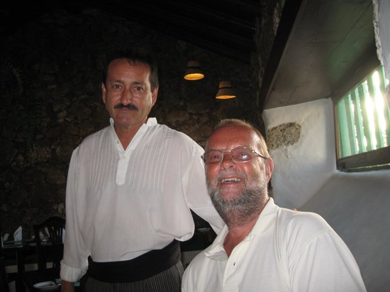 La Era : Me with the very friendly waiter