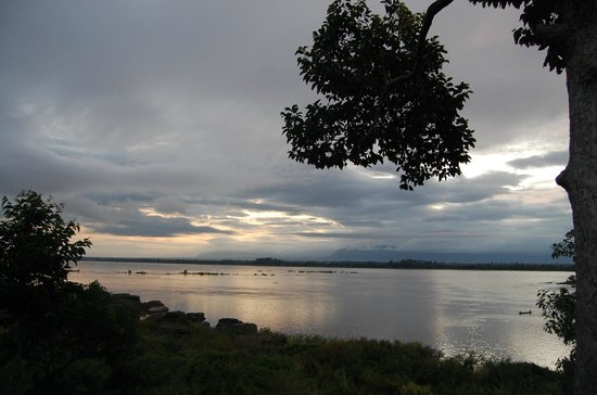 The River Resort : View of Mekong at sunrise
