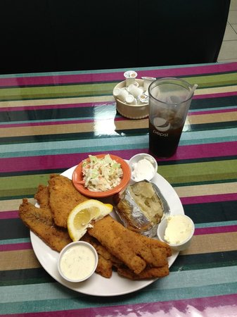 Billings Park Cafe: Pollock Fish Dinner