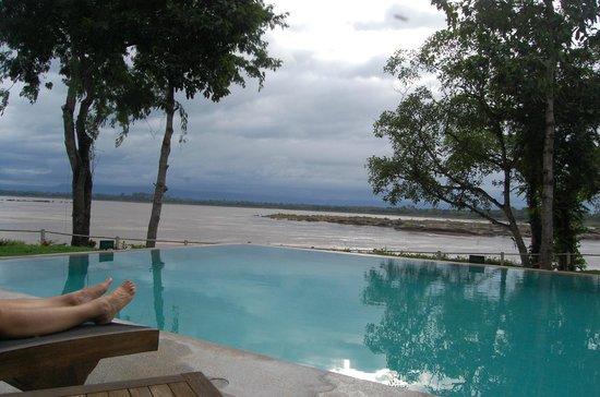 The River Resort : Infinity Pool on the Mekong