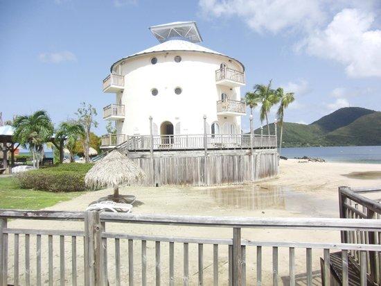 La tour, symbole des Boucaniers - Picture of Club Med ...