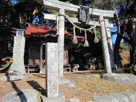 Remians of the Uehara Castle: 金毘羅神社