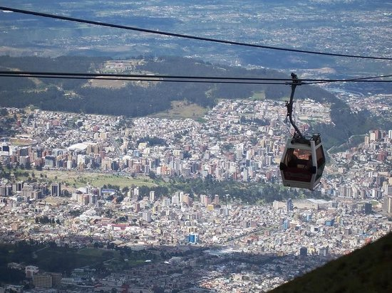 Teleferico Quito: This is a great view of the city.