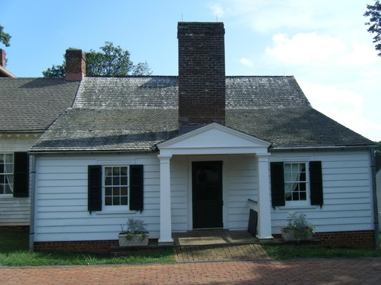 ‪‪James Monroe's Highland‬: Front of Monroe's house‬