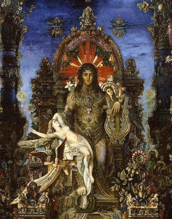 Musee Gustave Moreau : La mythologie grecque interprétée par Gustave: Zeus et Léda