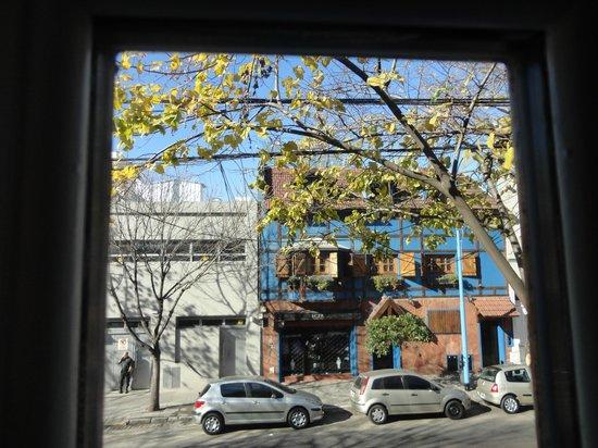 Nina Suites: vista da janela do quarto quádruplo