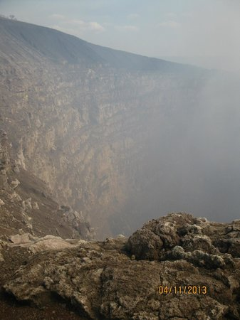 Masaya Volcano National Park: Another View Into the Crater