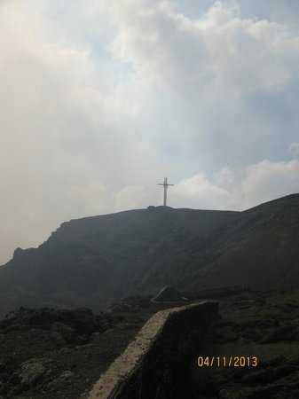 Masaya Volcano National Park: The Bobadilla Cross Above the Crater