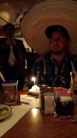 Lindo Michoacan: They sing happy birthday & put a giant sombrero on u for birthdays! So fun!
