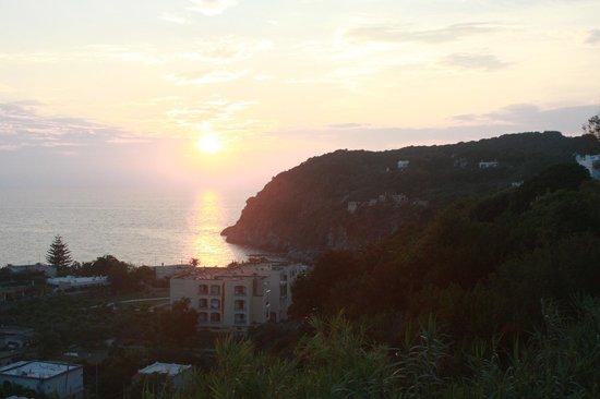 Hotel Parco Dei Principi: panorama dalla sala della spiaggia San Francesco