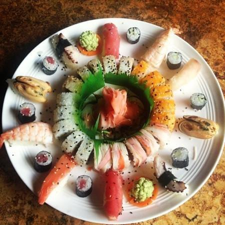 Donde Johann: sushi