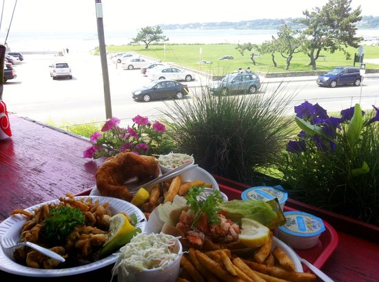 Flo's Clam Shack : Lunch with a view
