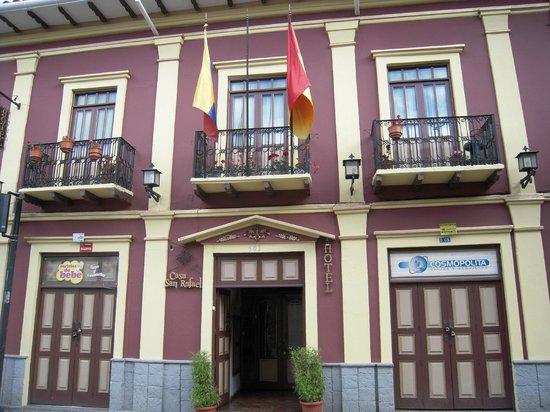 Casa San Rafael: Hotel front view