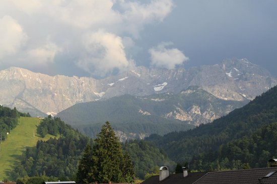 Gästehaus Zufriedenheit: Balcony view