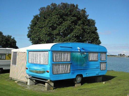 Whangateau Holiday Park : On-Site caravan