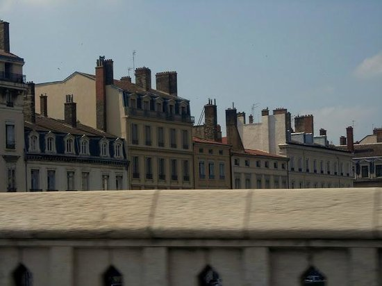 Premiere Classe Lyon Centre - Gare Part Dieu : Adorei esta vista.