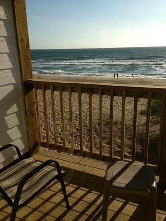 John Yancey Oceanfront Inn : View of Ocean from our Balcony of SEA Building
