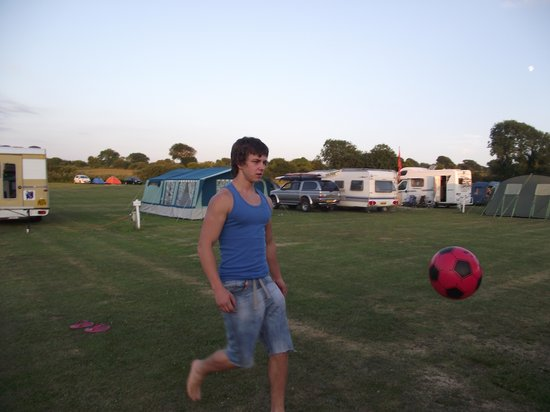 Buttyland Touring Caravan & Tent Park: plenty of space to play