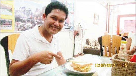 Hanoi Ciao Hotel: breakfast