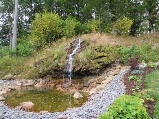 Spirit & Spa Hotel Birkenhof am Elfenhain (Ferienhotel Birkenhof KG): Wasserfall