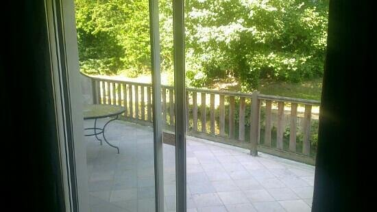 La Gentilhommiere : view from suite 22
