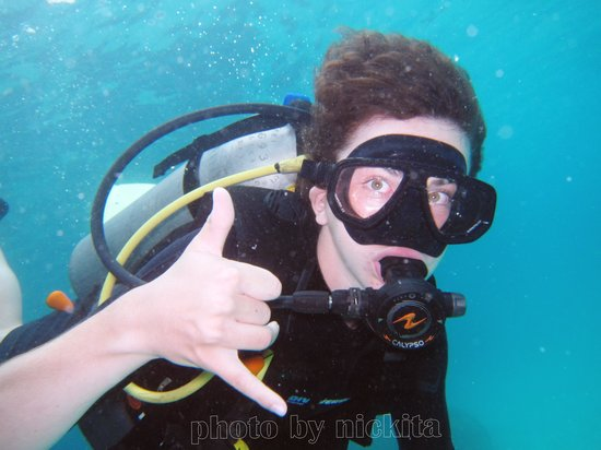 Discovery Dive Centre: Q diving and having fun