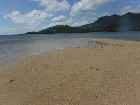 Nukubati Private Island : Sandbank we found kayaking..