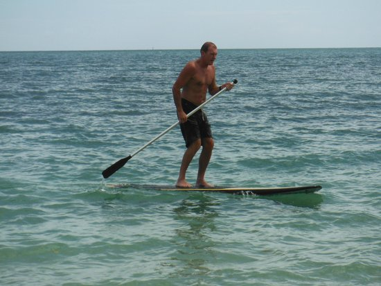 Nukubati Private Island : Paddle Boarding