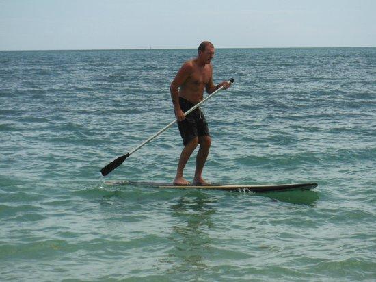 Nukubati Private Island: Paddle Boarding