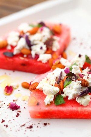 Su'dan Restaurant: Watermelon with Rosewater