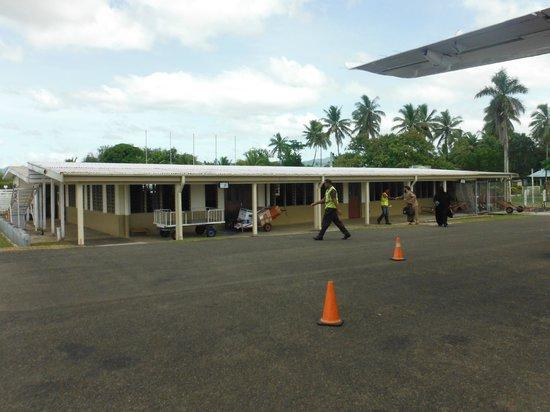Nukubati Private Island: Labasa Airport