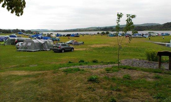Loch Ken Holiday Park: Camping Field