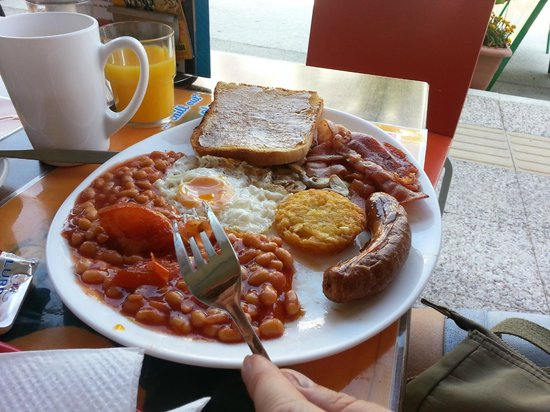 24/7 The Chill Out Place : Full English