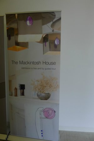The Mackintosh House: Poster