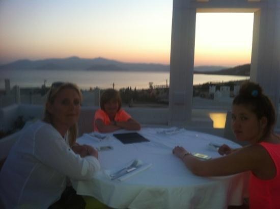 The Taverna: Restaurant Naxos Island. Ag. Prokopis