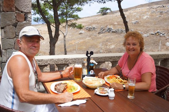 Hotel Quinta Do Serrado: Leaving BBQ