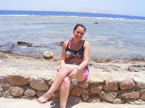 Nubian Island Hotel: on the beach