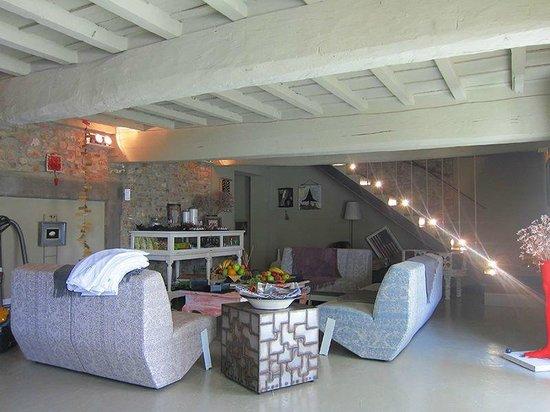 Villa Aruch: Aufenthaltsraum