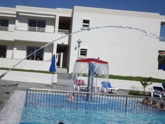 Pool With Fountains And Jets Picture Of Kaos Hotel