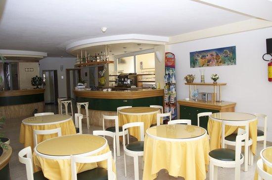Hotel Lido : Sala bar,