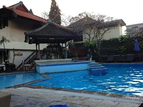 The Taman Ayu: pool area