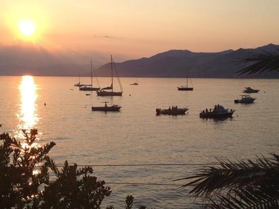 Trattoria Do Spadin: Uno splendido tramonto.